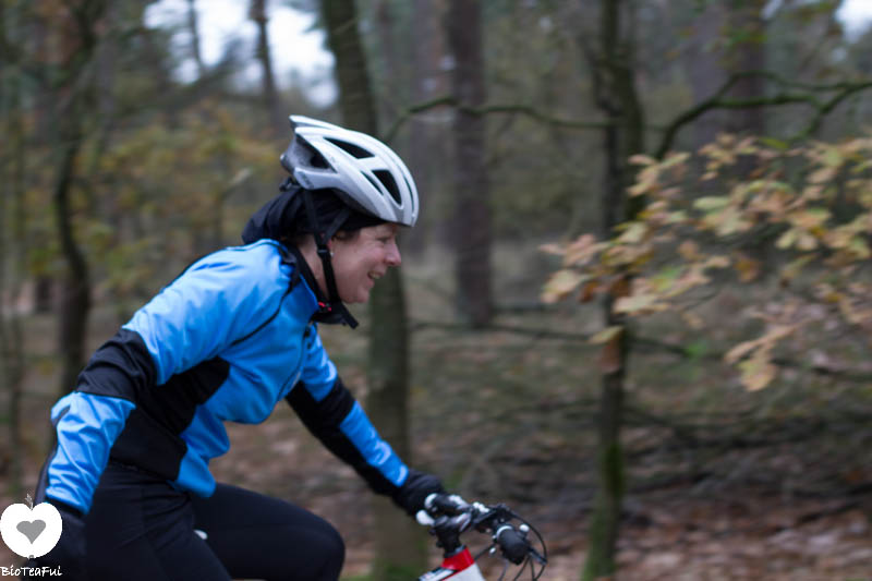 mountainbike clinic voor dames - Smiley!