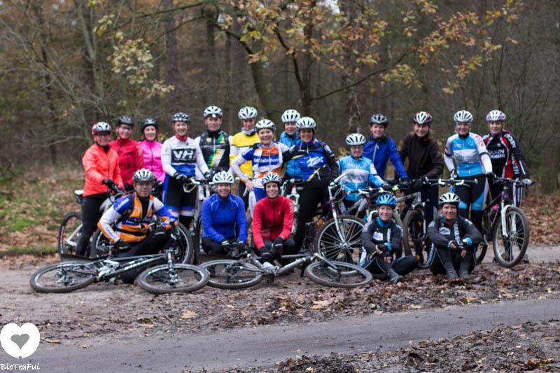 mountainbike clinic voor dames - Sanne van Paassen