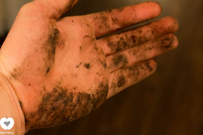 vieze hand