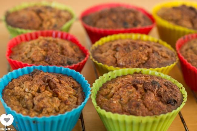 Recept: Bosbessen Havermout Muffins