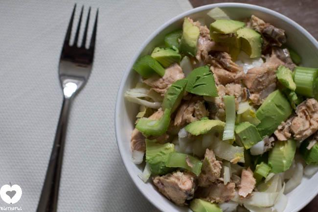 bleekselderij witlof salade