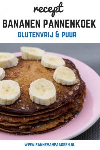 recept bananen boekweitpannenkoek voor sporters