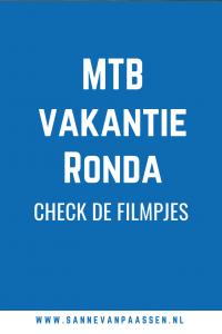 Mountainbike vakantie Ronda