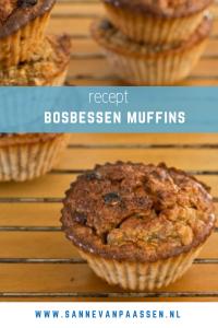 recept havermout bosbessen muffins