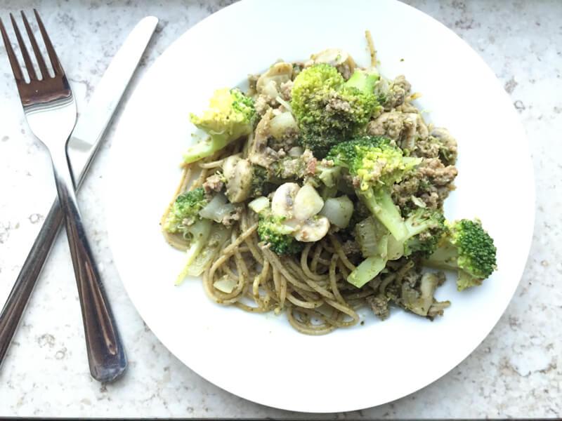 Recept: Pasta Pesto met Broccoli