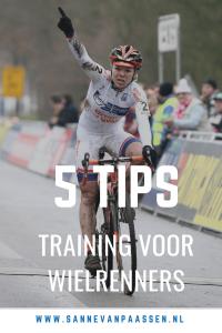 training voor wielrenner