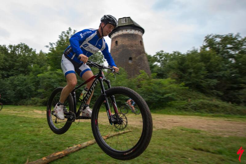 Mountainbike clinic voor bedrijven, enthousiasme