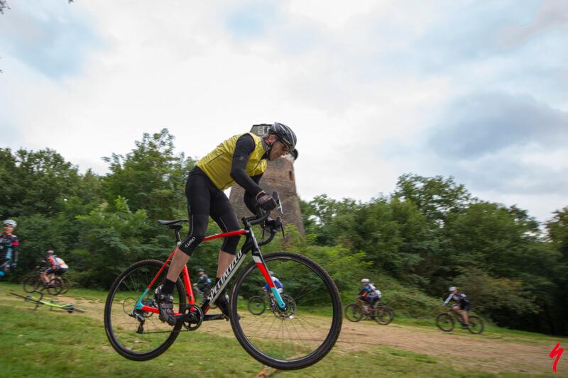 Mountainbike clinic voor bedrijven, fanatiek