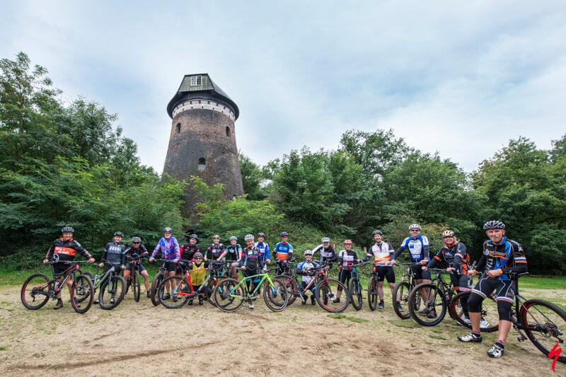 Mountainbike clinic voor bedrijven