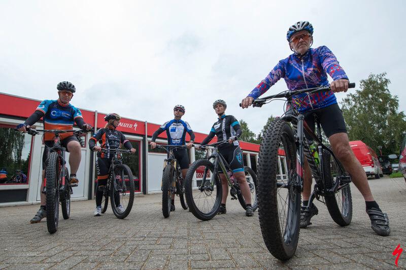 Mountainbike clinic voor bedrijven, Ready!