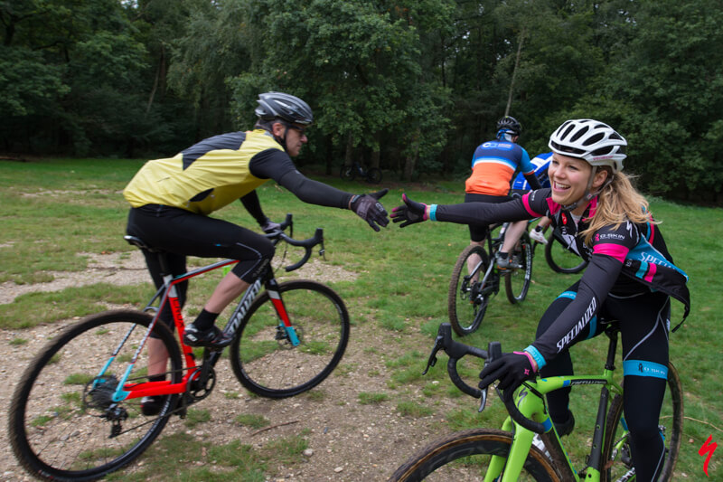 Mountainbike clinic voor bedrijven, vol energie!