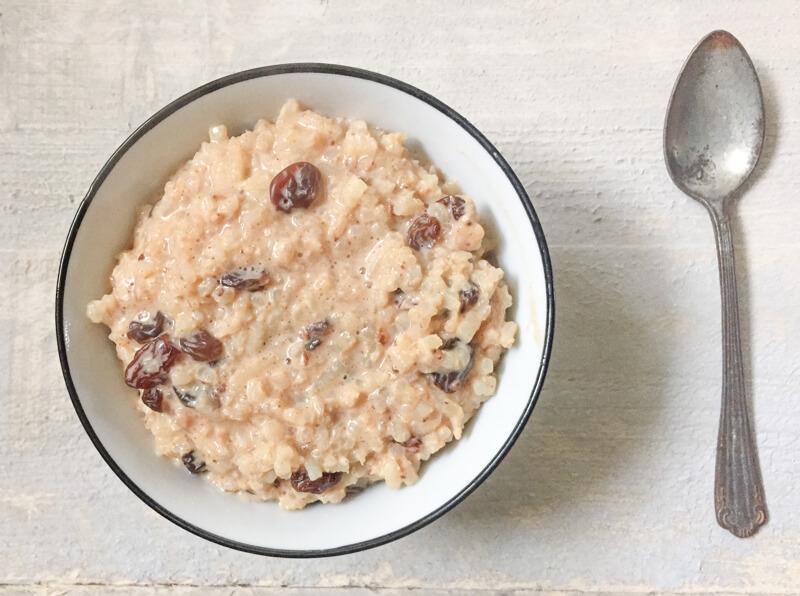 Recept: Rijstepap voor een sportontbijt