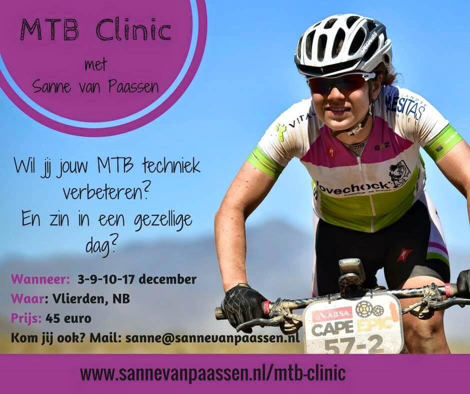 Wat maakt de mountainbike clinics met mij zo leuk?