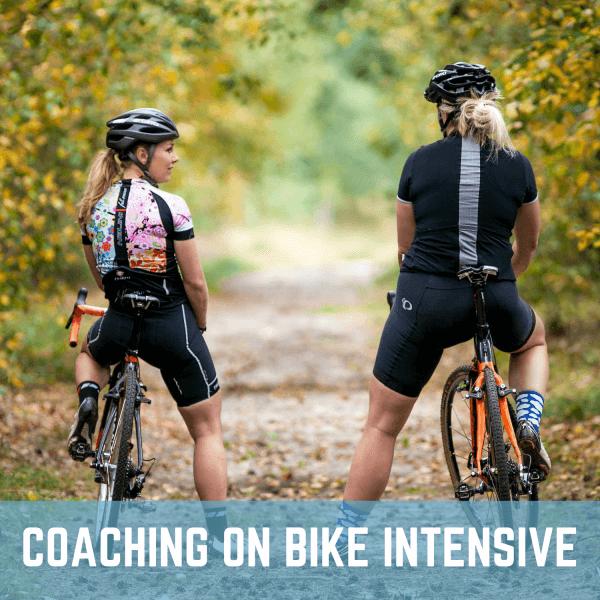 coaching on bike intensive