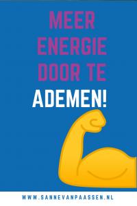 Meer energie door te ademen!
