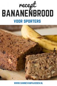 recept bananenbrood voor sporters glutenvrij