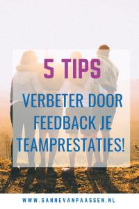 verbeter je team door feedback geven