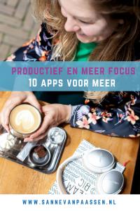 apps voor meer productiviteit en focus