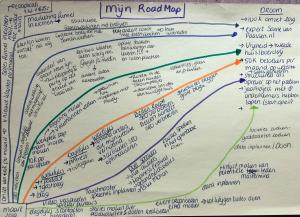 roadmap om doelen te realiseren