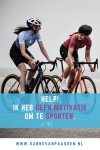 motivatie terug vinden voor sporters