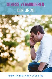 tips om stress te verlagen