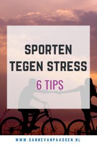tips sporten tegen stress