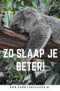 tips om slaap te verbeteren