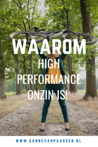 waarom high performance coaching onzin is