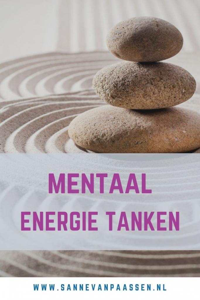 mentaal energie tanken