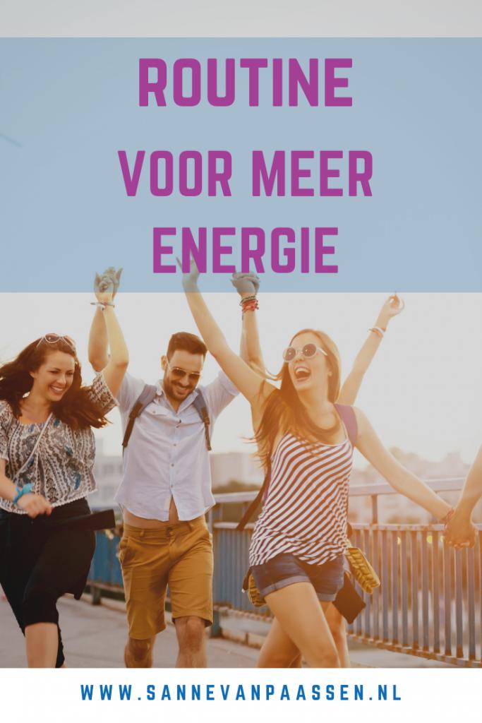 routine voor meer energie