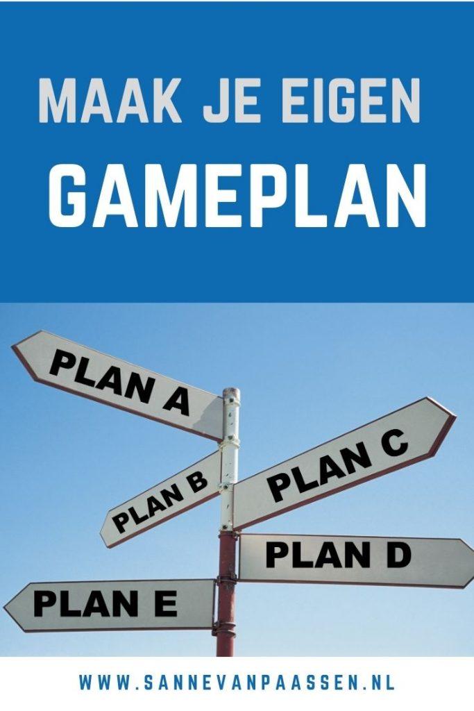 maak je gameplan