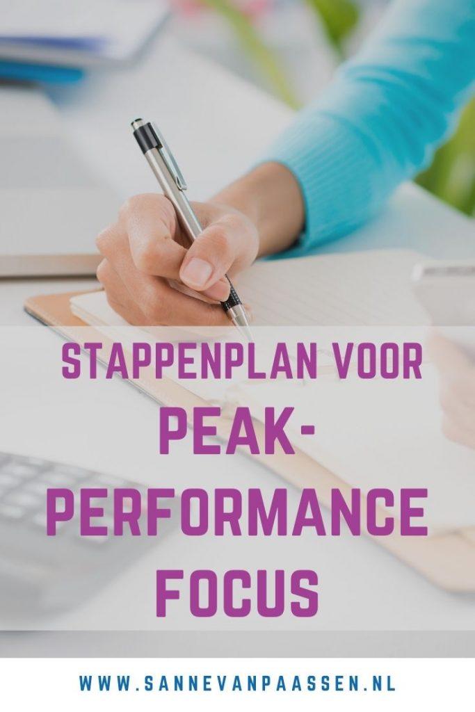 peakperformance focus