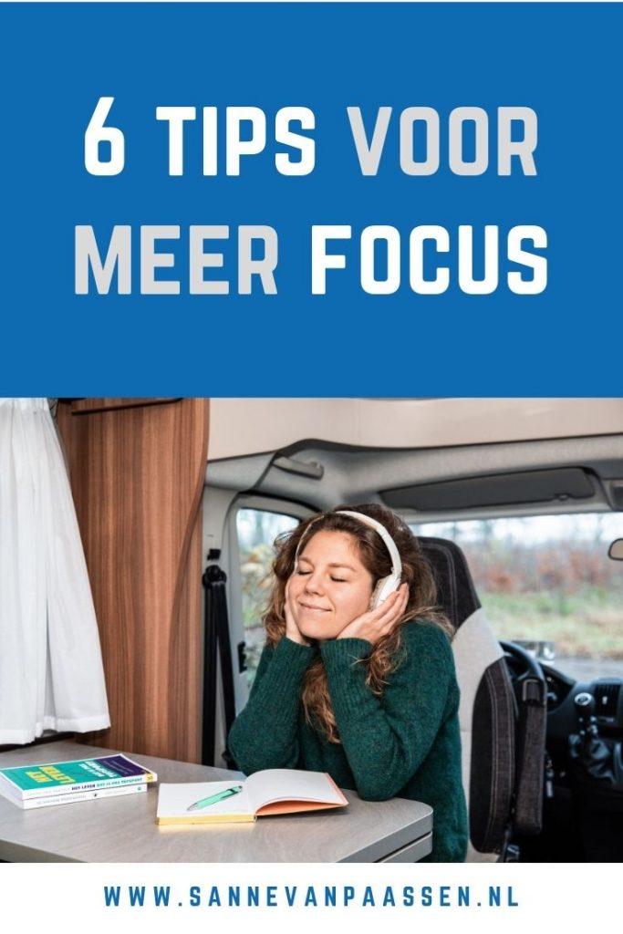 tips voor meer focus