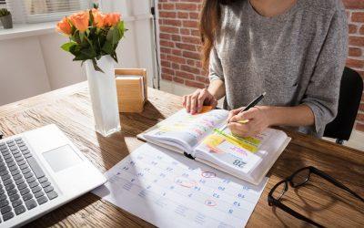 Wekelijkse routine voor de juiste intentie en focus